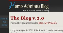 Homo-Adminus Blog